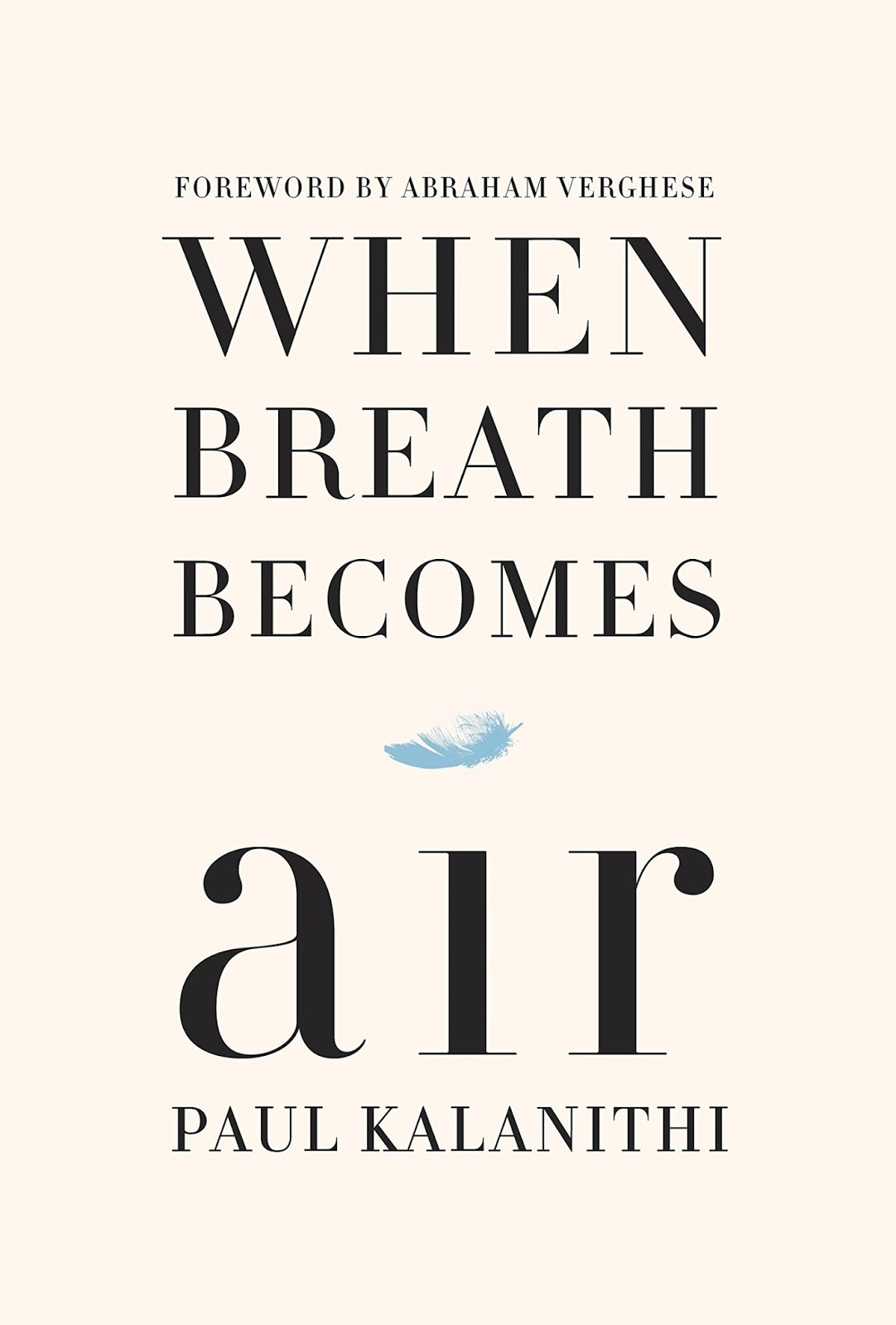 When Breath Becomes Air - Paul Kalanithi [kindle] [mobi]