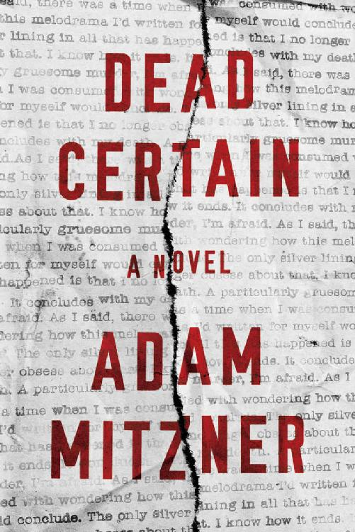 Dead Certain: A Novel - Adam Mitzner [kindle] [mobi]