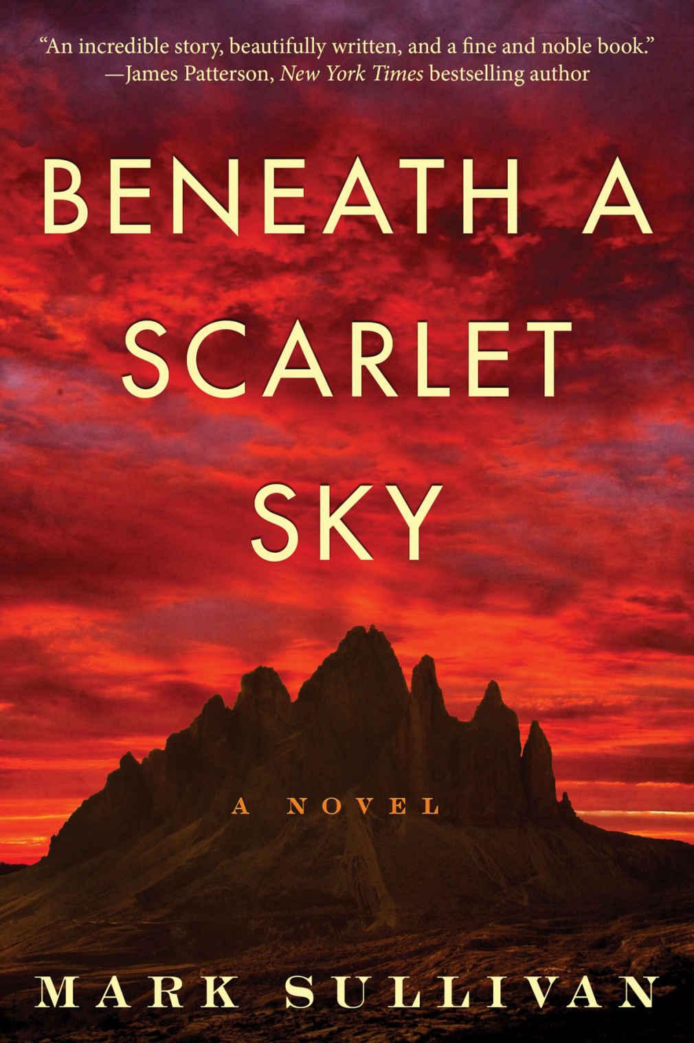 Beneath a Scarlet Sky: A Novel - Mark Sullivan [kindle] [mobi]