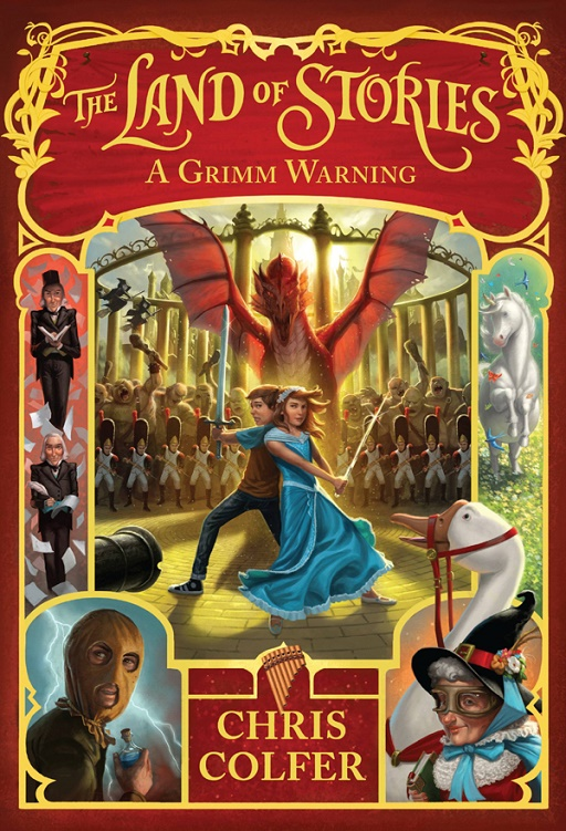 The Land of Stories: A Grimm Warning - Chris Colfer [kindle] [mobi]