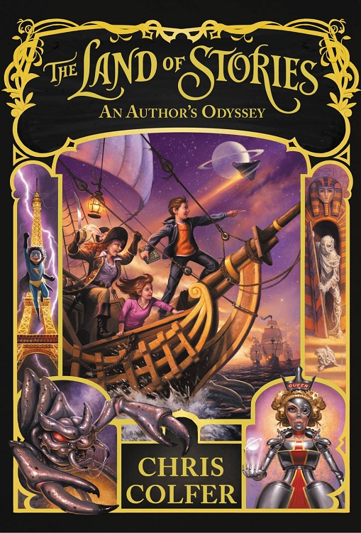 The Land of Stories: An Author's Odyssey - Chris Colfer [kindle] [mobi]