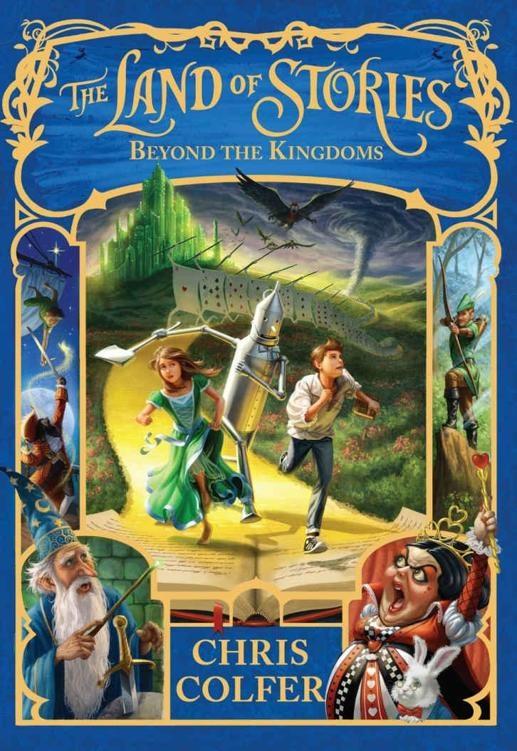 The Land of Stories: Beyond the Kingdoms - Chris Colfer [kindle] [mobi]