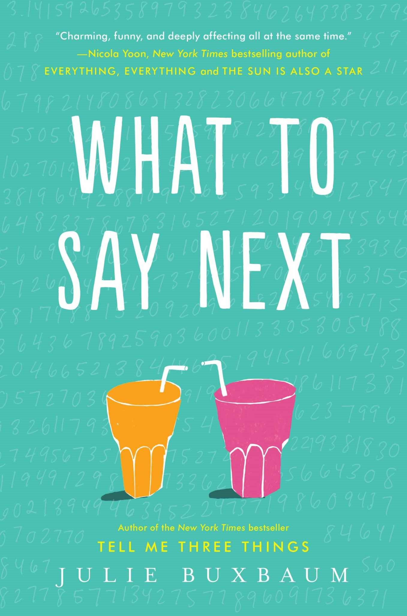 What to Say Next - Julie Buxbaum [kindle] [mobi]